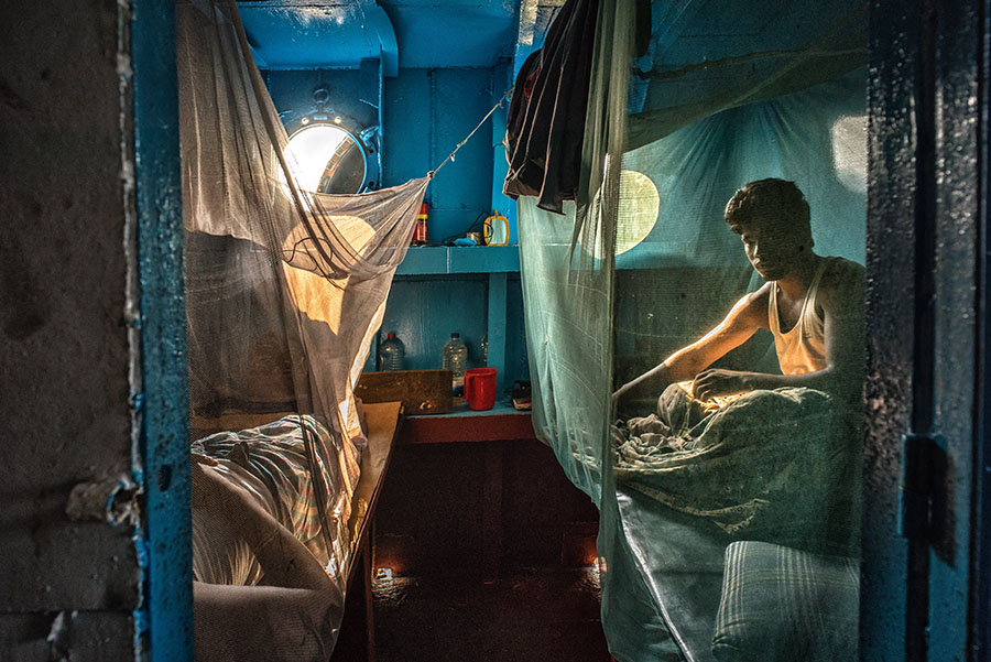 The Shipyard Workers of Dhaka by Nick Ng