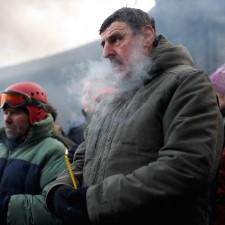 Anti-government protests continue in Kiev