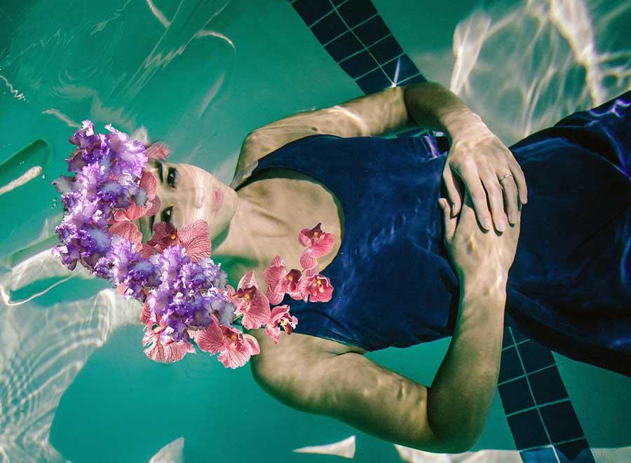 Flower Skin by Cao Dien