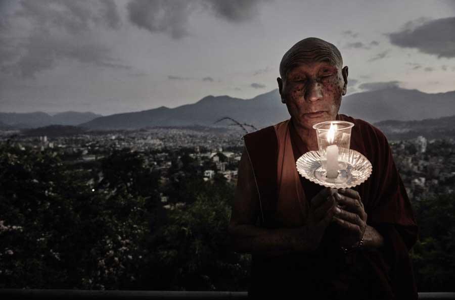 Bhukhampa Nepal by Jan Møller Hansen