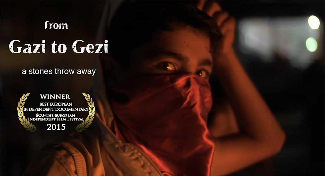 Gazi to Gezi – a stones throw away