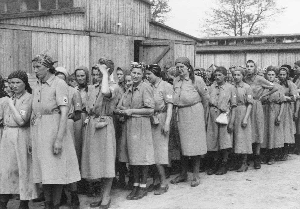 Auschwitz Album. Assignment to labour camp, 1944