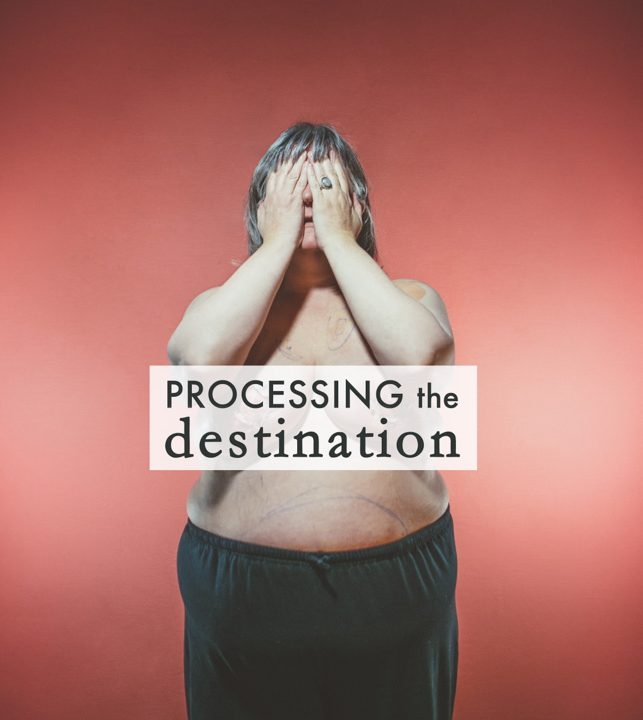 Processing the Destination by Gracie Hagen
