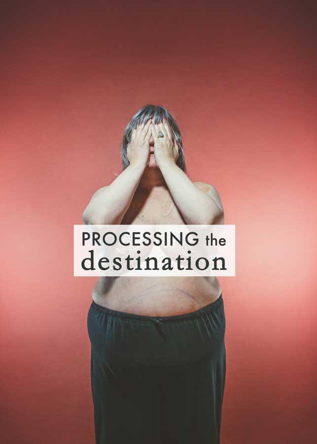 Gracie Hagen - Processing the Destination-COVER