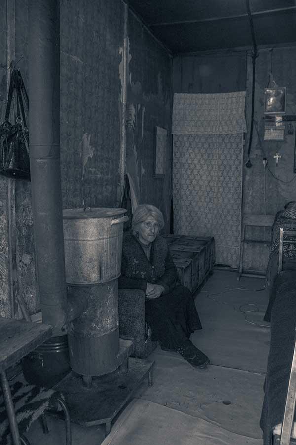 Gyumri Woman living in lodge