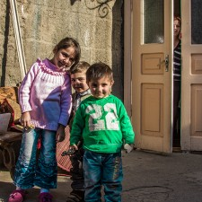 Gyumri children