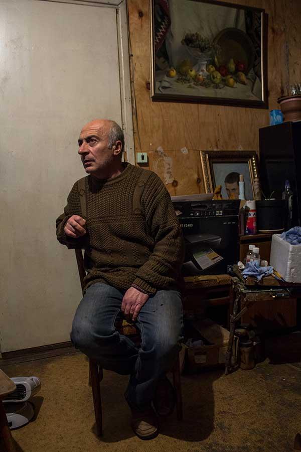 Gyumri the painter