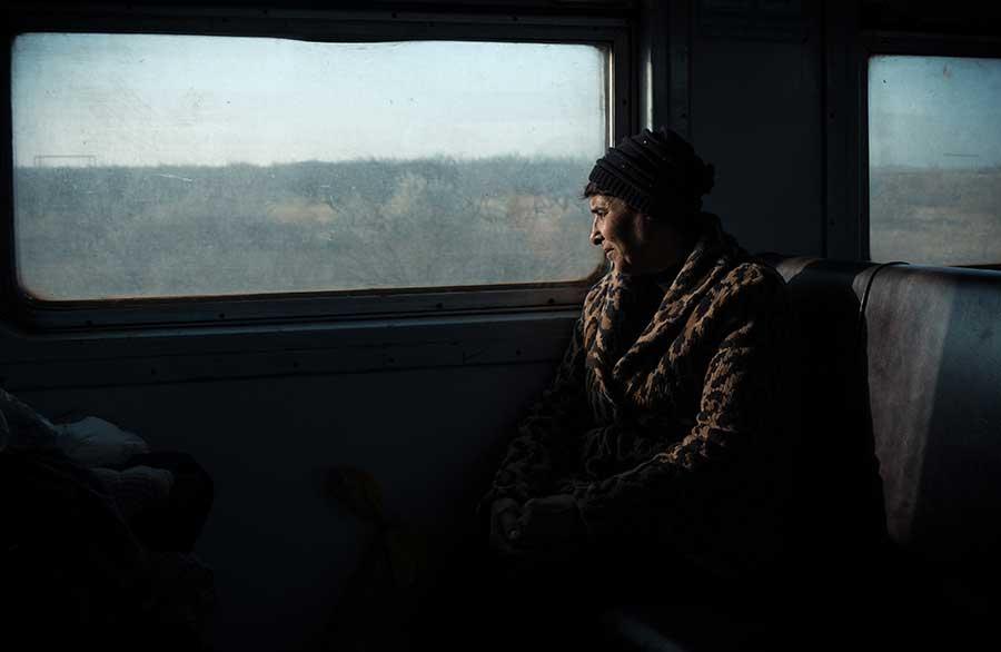 Train passanger
