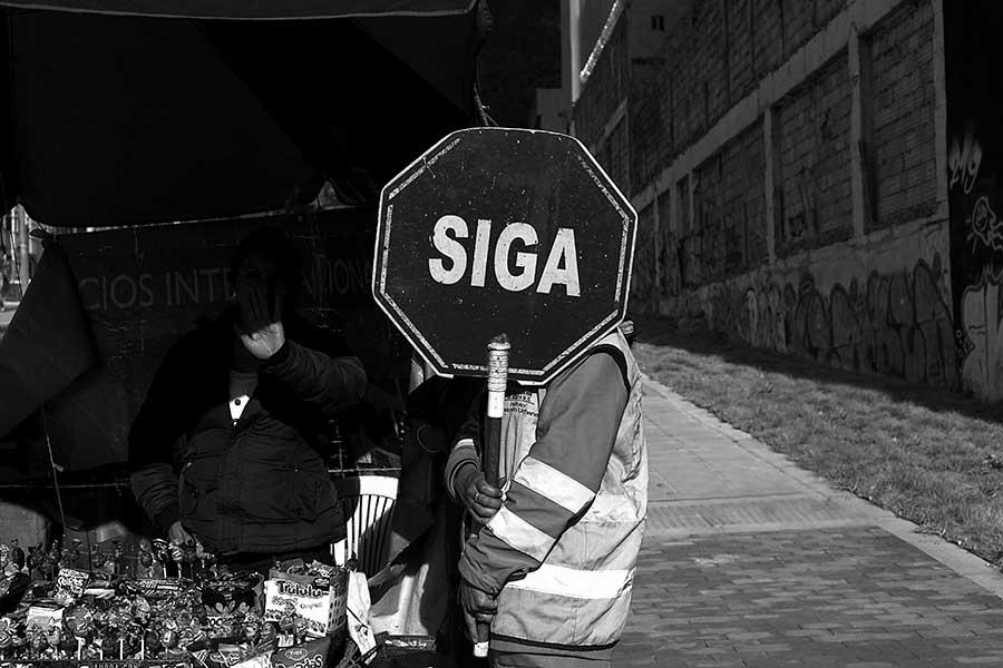 Bogota by Jose Acosta