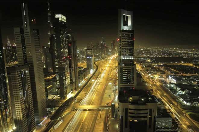 Early Dubai timelapse