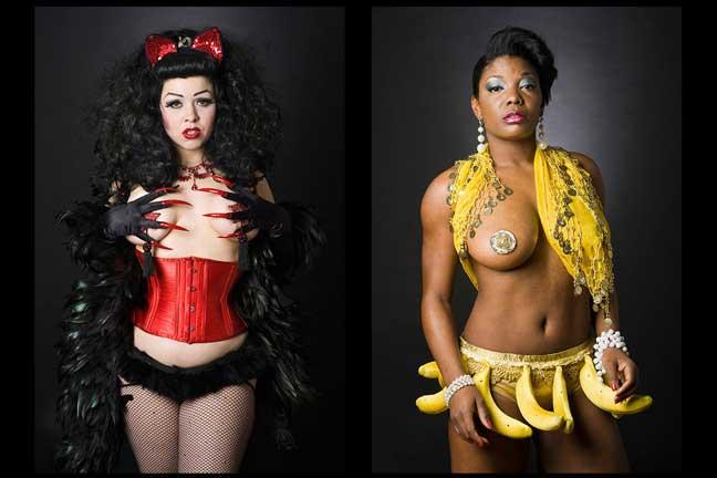Neo-Burlesque by Leland Bobbé