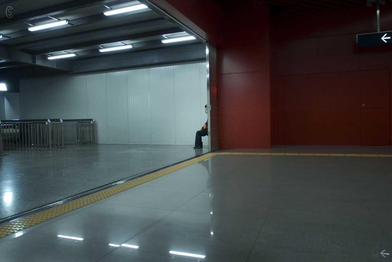Dongzhimen subway station-Beijing