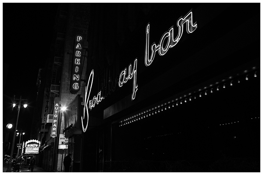 Broadway Bar Neon Sign