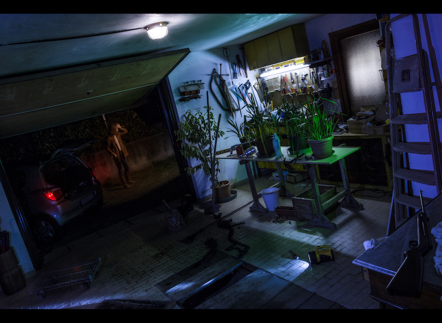 Dan Bannino - Noir Stills #11- Garage Madness