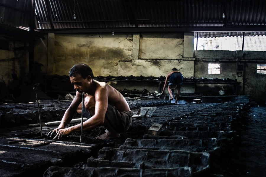 An iron cast foundry by Sagnik Datta