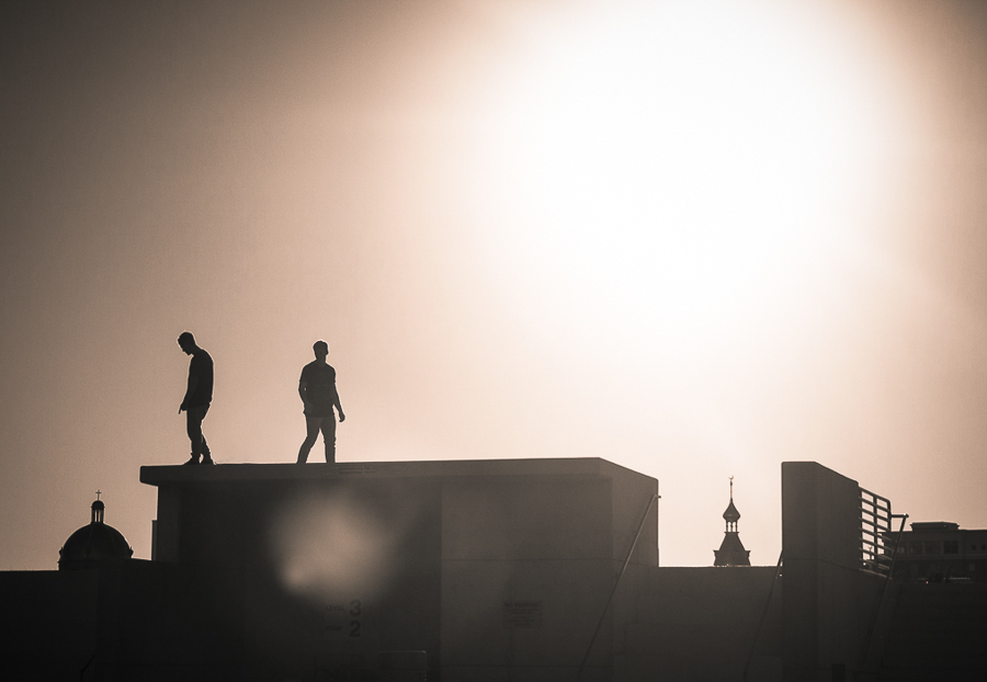 Silhouette by Sunset