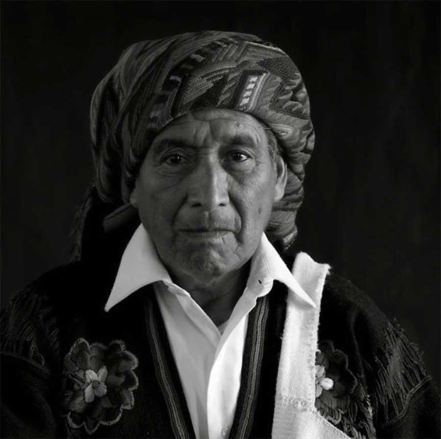 Tomás, Cofrade Chichicastenango, Guatemala. Photo © Santiago Albert, 2014