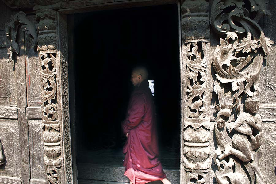 Inside Myanmar Monasteries by Irene Barlian