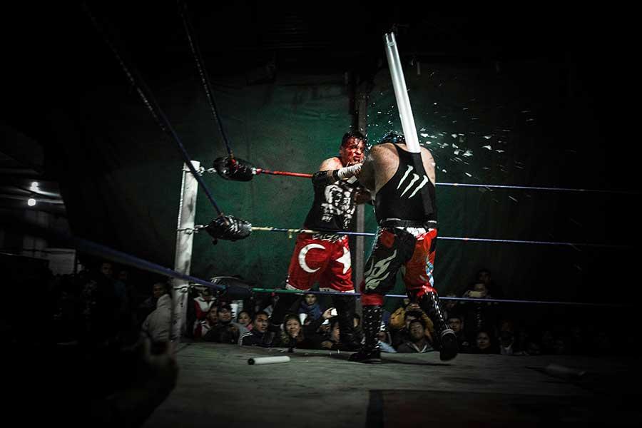 15 Lucha Libre Extrema