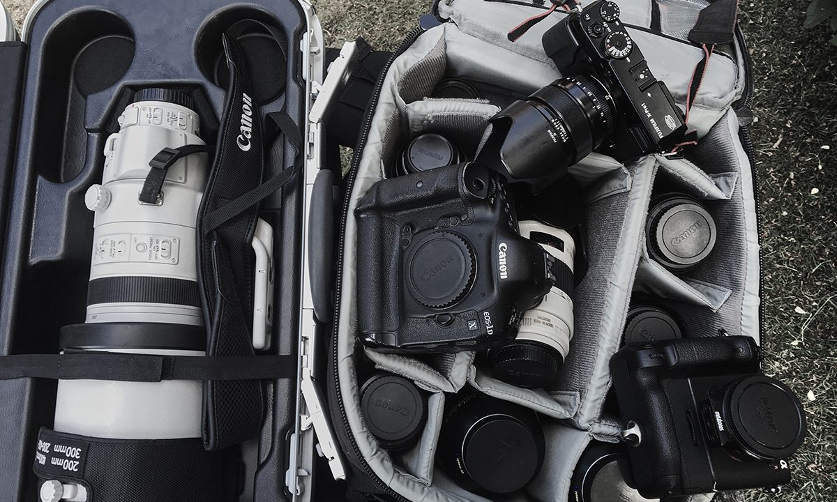 Inside the Camera Bag of Jan Møller Hansen