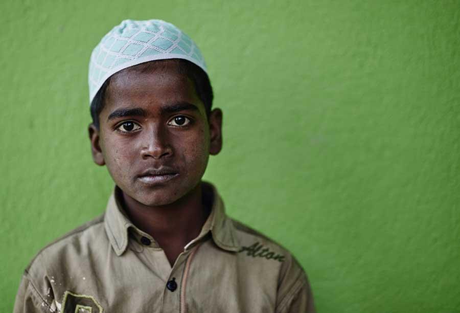 Rohingya refugee from Myanmar.