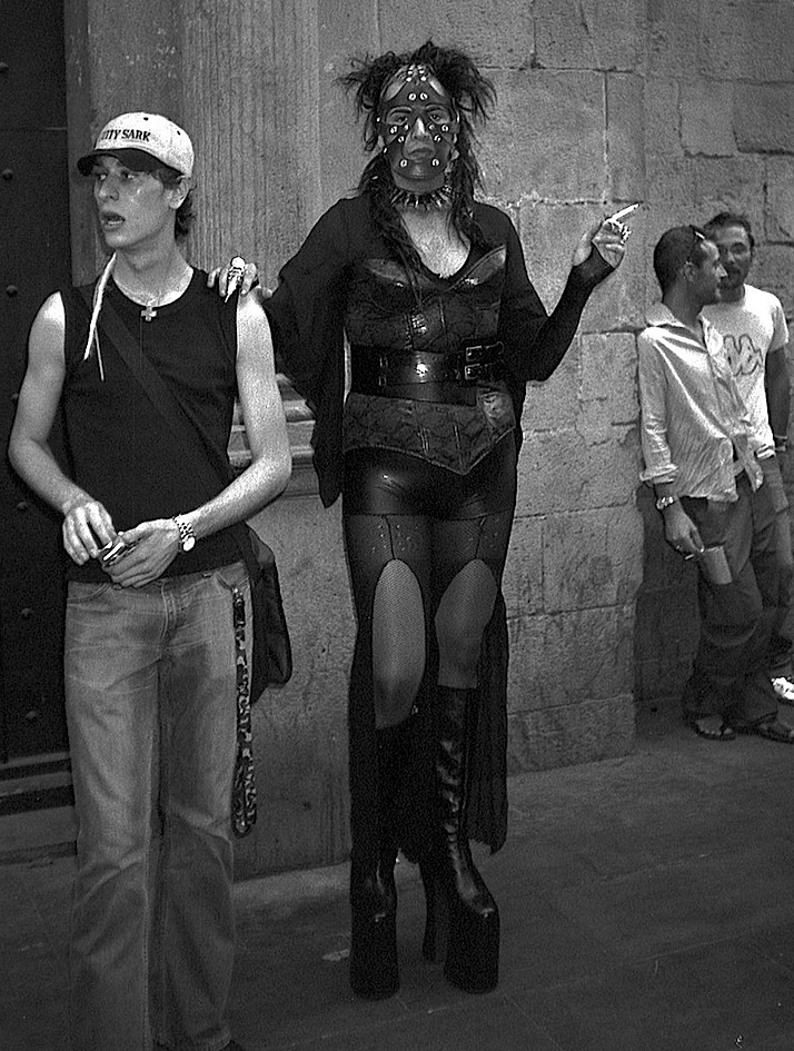 TITLE. Untitled. Barcelona, Spain. 2003 Pogus Caesar:OOM Gallery Archive. All Rights Reserved