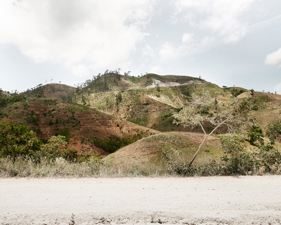 Haiti - the border of the Dominican Republic, at 2000 meters high.