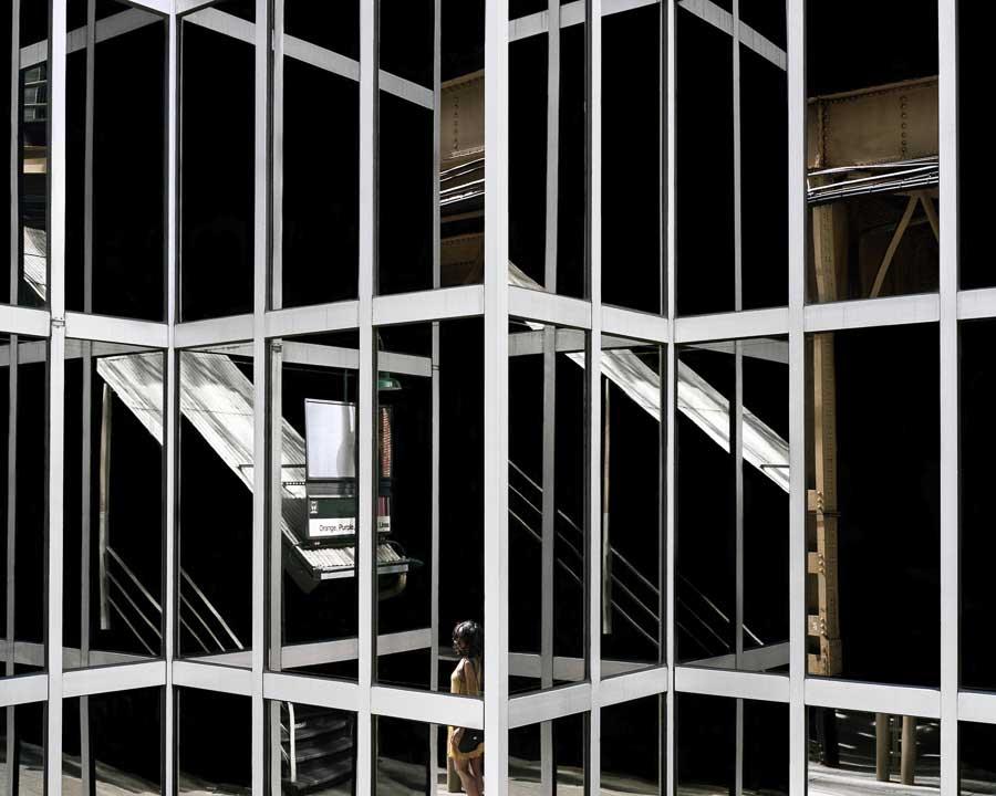City Space / copyright: © Clarissa Bonet / Images courtesy Catherine Edelman Gallery, Chicago.