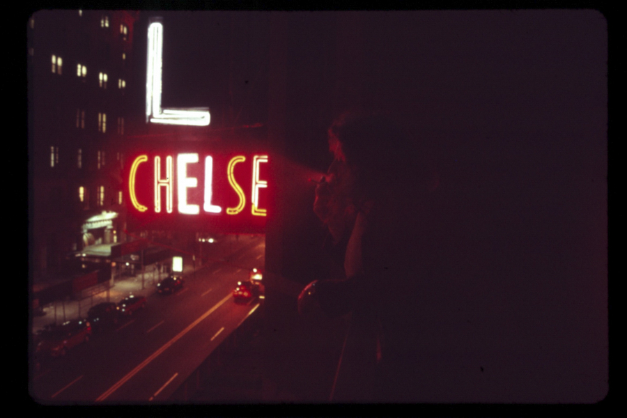 Living in the Chelsea Hotel by Linda Troeller