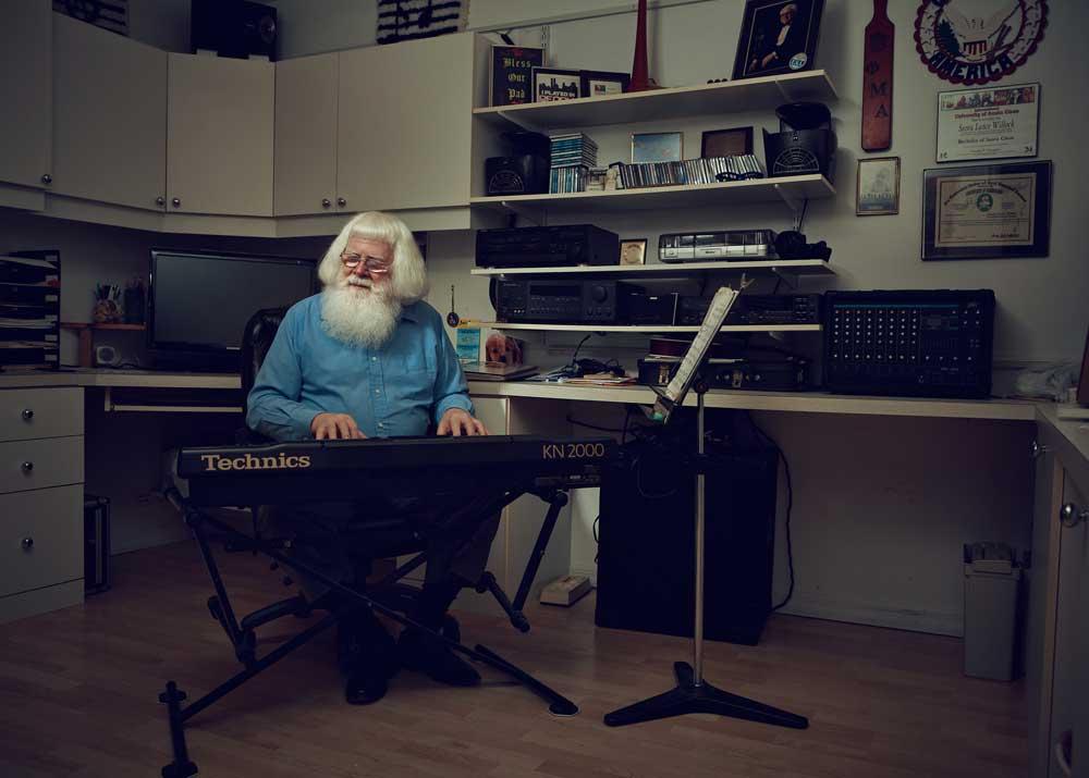 Santa Ernie / Off-Season Santas / Mary Beth Koeth