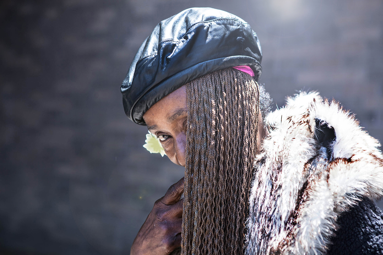 Woman on Skid Row 2014