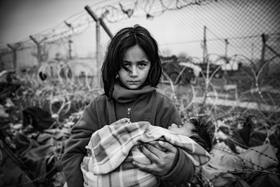 Fleeing Death / Szymon Barylski