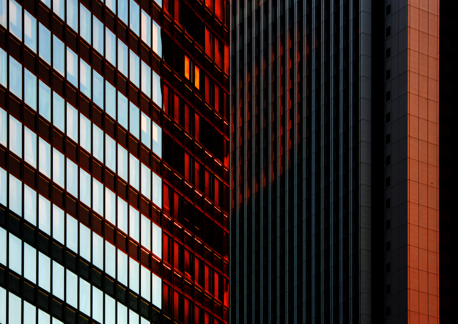 Urban kaleidoscope Red 2
