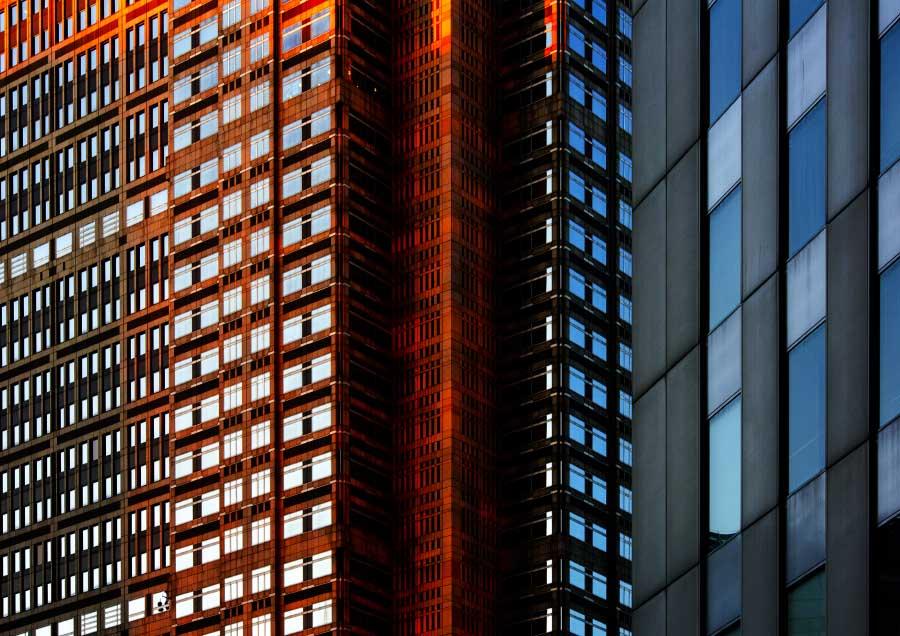 Urban kaleidoscope Red 3