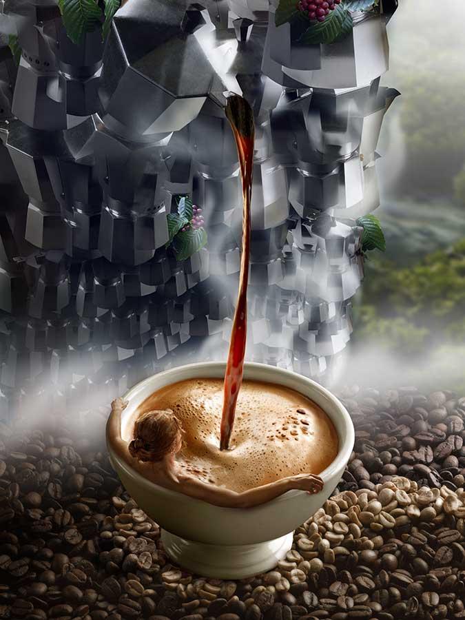 coffee fall
