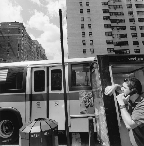 New York City, 2002 gelatin silver print 11 x 14 inch / 27.9 x 35.6 cm