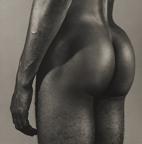 Ron Simms, 1980 Silver Gelatin Print 50.8 x 40.6 cm, 20 x 16 ins paper size 73.3 x 60.1 cm, 28 7/8 x 23 5/8 ins framed Copyright Robert Mapplethorpe Foundation, New York.