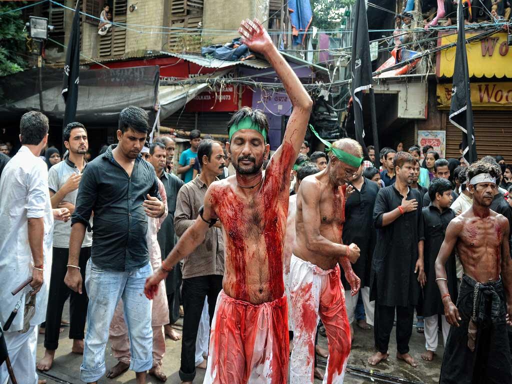 A Mourner / Muharram festival / Debarshi Mukherjee