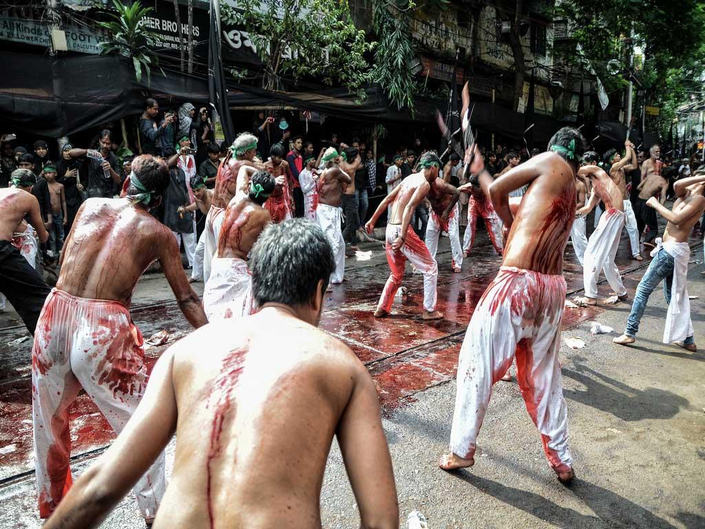 Zanjeer Zani (Act of Mourning) / Muharram festival / Debarshi Mukherjee