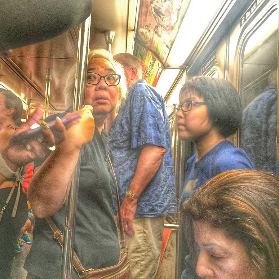 Underground NYC / Leland Bobbé