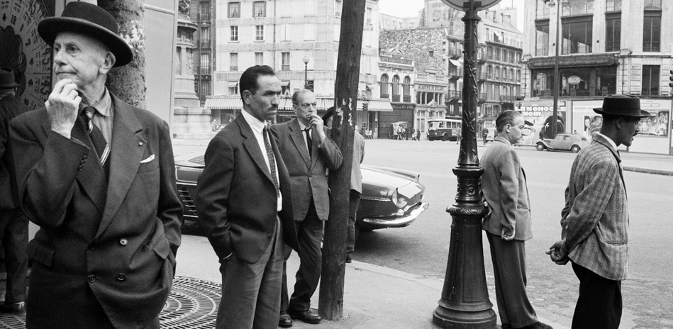 Place Clichy, Paris, 1961 © Bernard Larsson