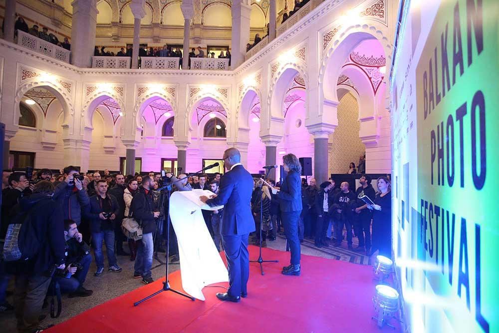 29.01.2016., Zagreb - Dodjela nagrada Balkan foto Festivala. Photo: Petar Glebov/PIXSELL
