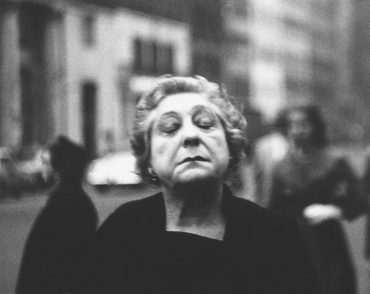Diane Arbus, Woman on the street with her eyes closed, N.Y.C. 1956; courtesy The Metropolitan Museum of Art, New York/ copyright © The Estate of Diane Arbus, LLC. All rights reserved