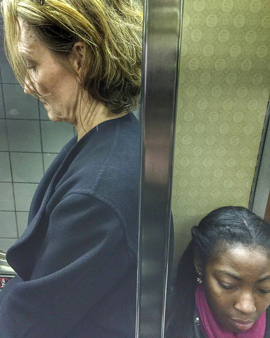 Underground NYC by Leland Bobbé