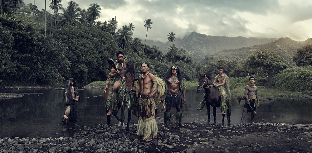 Vaioa River, Atuona, Hiva Oa, Marquesas Islands, 2016. 89 x 160 cm. Edition 1/6.