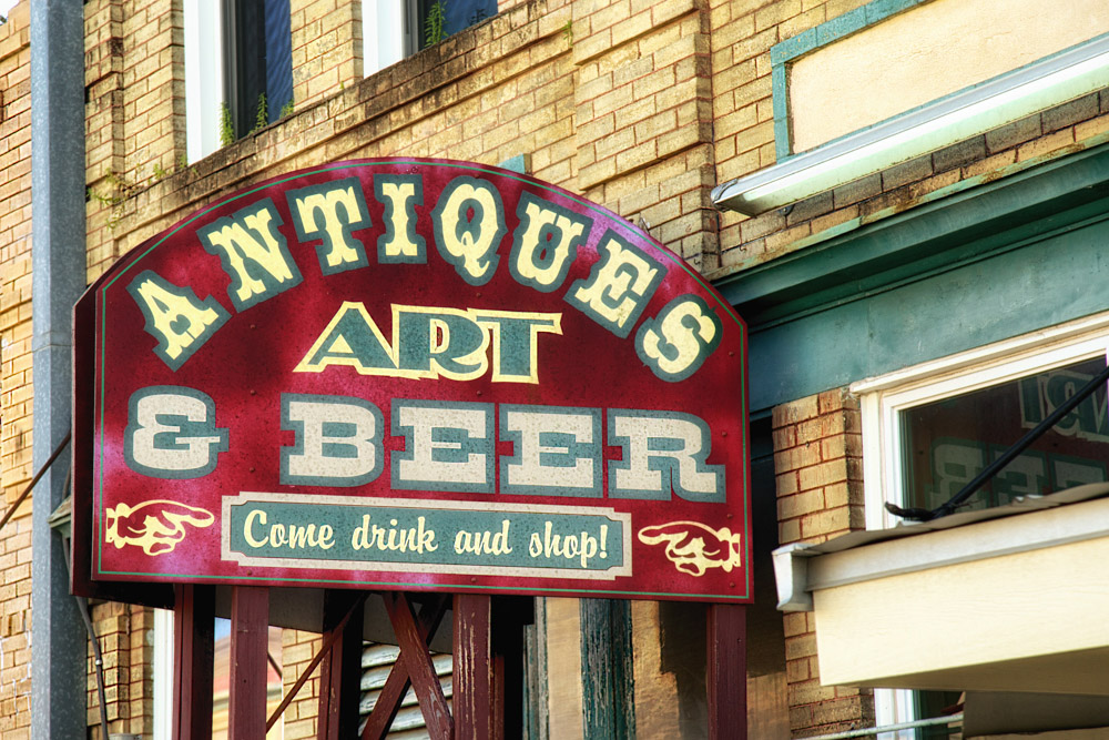 Antiques and Beer | Texas Relics | Steve Knight