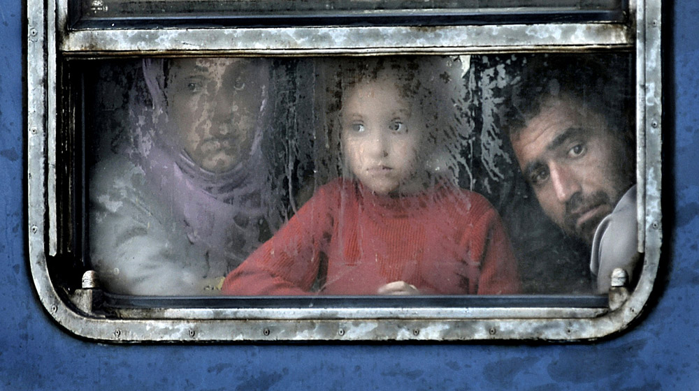 Kerekes István ; Migrant crisis in Hungarian-Austrian border zone