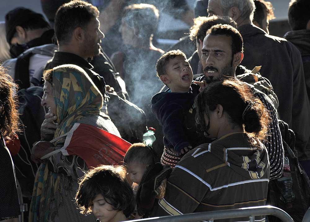 Kerekes István | Migrant crisis in Hungarian-Austrian border zone