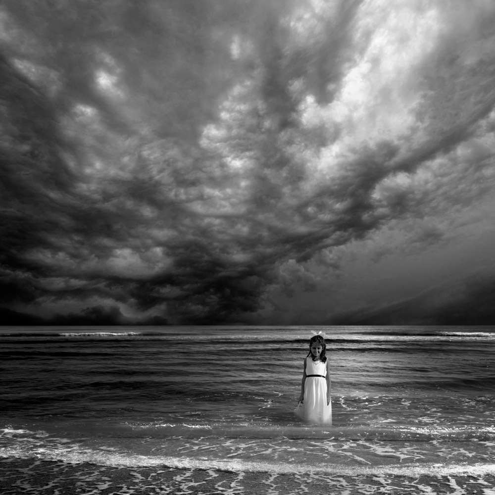 A Storm is Coming | Surrealism in Black & White | Marc Ward