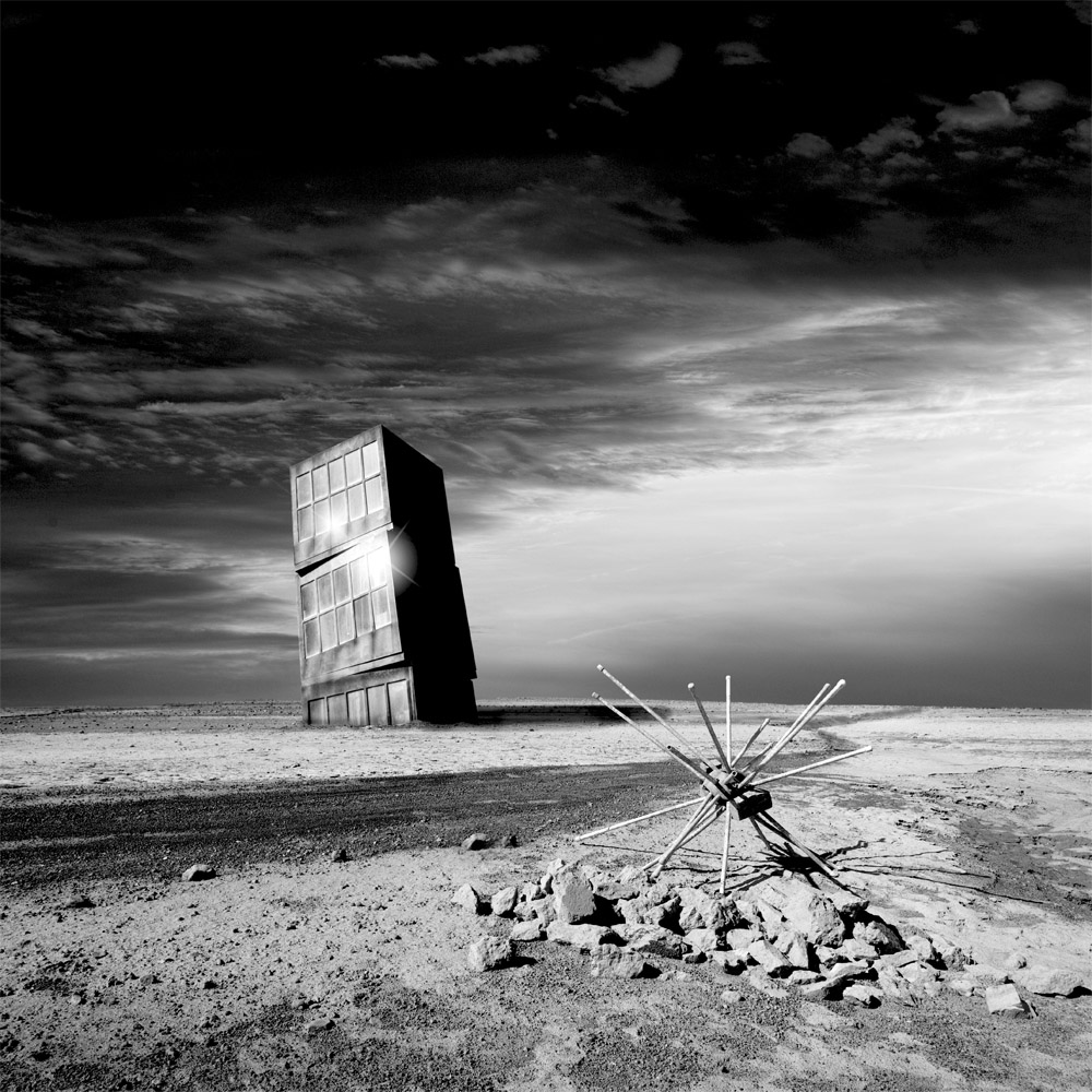 Along the road | Surrealism in Black & White | Marc Ward